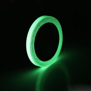 6 Größe Leuchtband Selbstklebende Photolumineszenz Nachtsicht Glow In Dark Wandaufkleber Sicherheit Warnung Sicherheit Bühnenbild