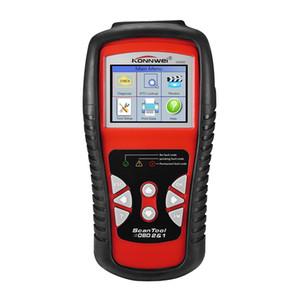 Factory Direct Gratuit DHL Car outil de diagnostic automobile Scanner KW830 OBD 2 EOBD mieux que ELM327 Code moteur Fault Lecteur Outils Scanner
