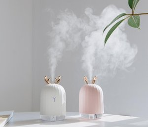 Air Humidifier Aroma Essential Oil Diffuser for Home Car USB Fogger Mist Maker with LED Night Lamp