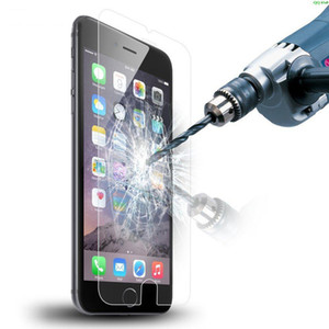 Pellicola protettiva temperata per iPhone X 8 4 4s 5 5s SE 5c 6 6s 7 Plus Pellicola protettiva rinforzata Fundas