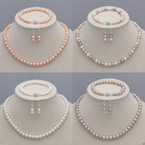 8-9mm Collar de perlas cultivadas naturales de Akoya + pulsera + pendientes Conjunto de joyas Información del vendedor