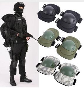 Protector de rodilla para codo de rodillas para deportes Protector de rodillas para codo de 4 piezas para adultos Protector de rodilla para codo táctico para adultos