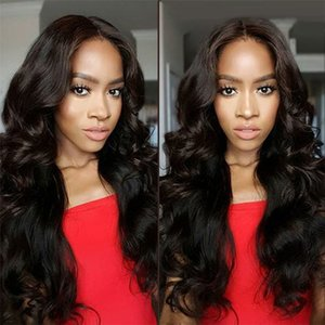Brazilian Cheap 360 Lace Frontal Wigs 150 Density Brazilian Body Wave Virgin Human Hair Lace Front Wigs For Black Women