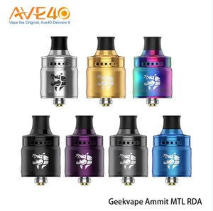 Authentic Geekvape Ammit MTL RDA 3D Airflow System 12 Airflow Adjusting Options Offered From Everzon 100% Orginal