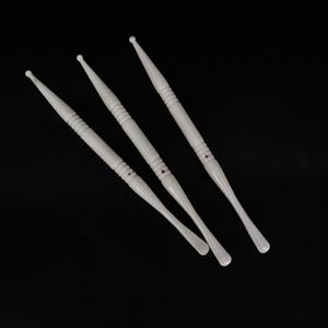 세라믹 dab 왁스 dab 도구 추출 오일 dabber 건조 허브 도구 컨테이너 vape dab 도구 전자 담배 액세서리 포장 PP 튜브