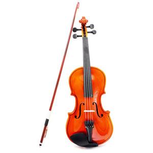 Commercio all'ingrosso 1/4 di formato violino violino in acciaio di tiglio perline arbor bow craft banda di violino per principianti