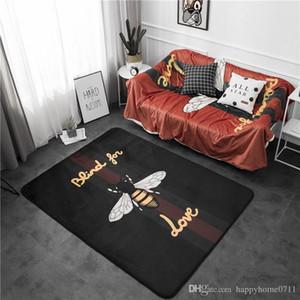 High quality fashion crystal velvet anti-slip animal print pattern living room bedroom indoor carpet baby crawling mat