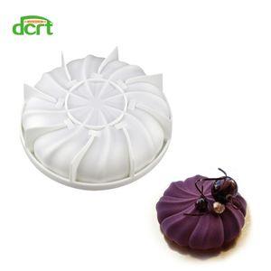 3d moldes de silicone em forma de abóbora para decorações do bolo diy mousse gelados pães doces bolo de chocolate moldes bakeware