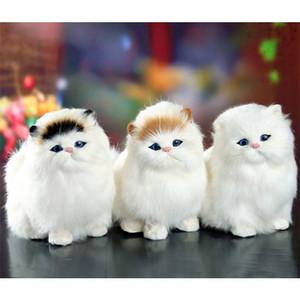 시뮬레이션 박제 인형 고양이 장난감 부드러운 전기 어린이 인형 귀여운 인형 고양이 인형 장난감을 울리는