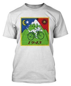 Dia de bicicleta Bikeer Trip atacado desconto ácido T shirt Dr Albert Hofmann T-shirt partido ácido Dtg3