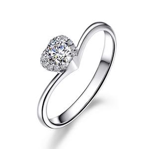 Schöne herzform sona herz schnitt diamant verlobungsring frauen 1ct 925 silber hochzeit ring