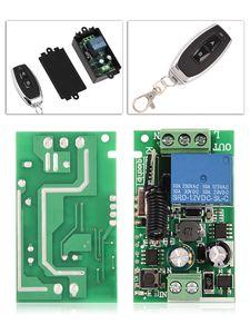 433 ميجا هرتز 85 فولت - 250 فولت 1ch العالمي لاسلكية التبديل التحكم عن اللاسلكية التتابع التحكم عن بعد التبديل 2-مفتاح استقبال + الارسال