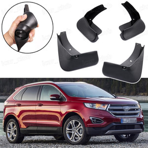 Nuevo 4pcs Car Soft Flaps Splash Guard Fender MudGuard Fit for Ford Edge 2015 2016 2017