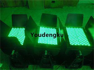 2 Stück LED City Color Licht im Freien RGB Wall Washer 144X3W RGB 3in1 im Freien wasserdichte LED Wall Washer 144pcs