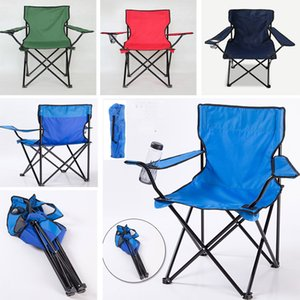Kids Folding Camp Chair With Matching Tote Bag Multi-Function Fold Up Beach Fishing Chairs Outdoor Chair Can Put Cup HH7-1153
