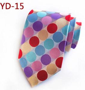 Fashion Classic 8cm Men Ties Silk Tie Dot Neck Ties Handmade Dots Tie Wedding Party Necktie Dot Necktie Business Ties Polyester Tie
