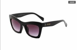 Buena calidad hombres y mujeres Belleza cabeza gafas de sol moda metal salvaje gafas de sol 41399Envío gratis