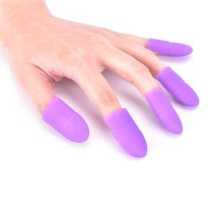 buona qualità 5pcs Nail Art Gel Polish Remover Cap Silicone Soak Off Cap Clip Gel Remover Cap Strumenti di pulizia per manicure