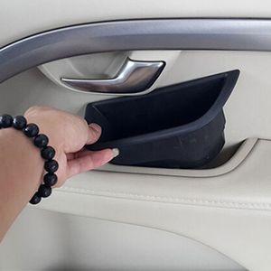 interior manija de la puerta soporte del reposabrazos caja de almacenamiento Stowing Tidying para Volvo xc60 v60 S60 S80 Accesorios interiores