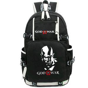Бог войны рюкзак Kratos день пакет скандинавской мифологии дизайн школы мешок игры стиль рюкзак Спорт школьный рюкзак открытый рюкзак