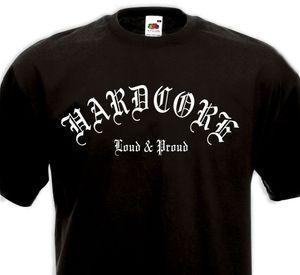 T-Shirt HARDCORE Laut stolz - HXC Madball Agnostic Front Biohazard Kickback