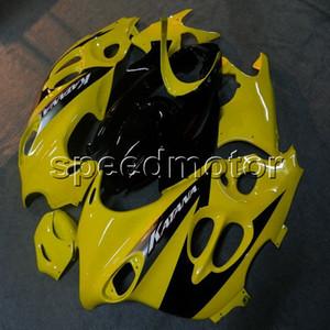 ABS Verkleidung für Suzuki GSX 600F Katana 03- 06 GSX600 F Katana 2003 2004 2005 2006 gelbe und schwarze Verkleidung