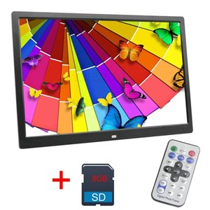 13 Inch Digital Photo Frame 8 GB LED Backlight High-Definition 1280 X 800 Electronic Album Picture Music Video Good Gift