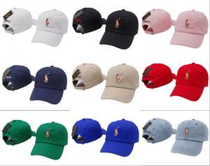 Hot New fashion polo golf chapeaux Marque Des centaines De Sangle Dos Capuchon hommes femmes OS snapback hat Casquette Réglable panneau golf sports baseball Cap