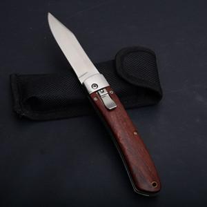 جديد fb أفقي السيارات التكتيكية الطي سكين الخشب مقبض 57hrc مرآة بليد أدوات التخييم الصيد بقاء الجيب edc