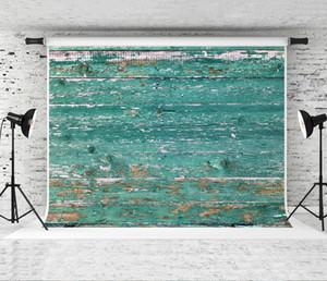7x5ft toile de fond en bois pour Photogrpaher photographie rétro vert en bois fond Prop enfants nouveau-né Photo Studio arrière-plans