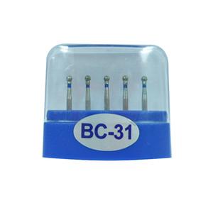1 Pack (5pcs) BC-31 Dental Diamond Burs moyen FG 1.6 M pour dentaire à grande vitesse pièce à main beaucoup de modèles disponibles