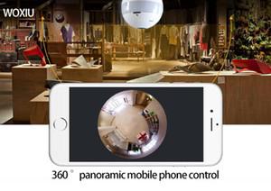 Waxiu камеры панорамная лампочка WiFi свет Скрытая безопасность IP рыбий глаз 360 градусов 1080P мониторинг для праздничного дня рождения украшения валентинки подарок
