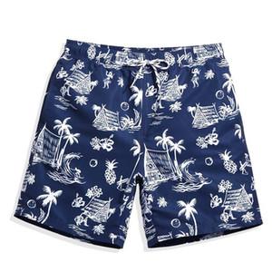 Mens Natação Maiôs Shorts de Verão Praia Havaiana Bermudas Swimwear Dos Homens Maiô Sexy Marinha Malha Plavky Beach Surf