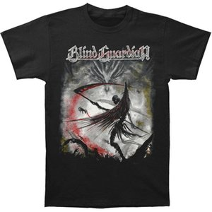 Blind Guardian Erkek Wacken'da Tişörtlü 3XL - Büyük Siyah Yaz Kısa Kollu Pamuk T Shirt Tee Çift Nefes Kawaii