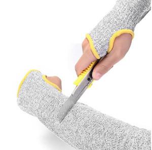 NUEVO Safurance 1 par manguitos de protección de brazo brazalete de prueba de corte antideslizante brazales de protección de seguridad en el lugar de trabajo
