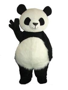 2018 Vente chaude Version Chinois Géant Panda Mascot Costume De Noël Mascot Costume Livraison Gratuite