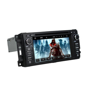 Auto DVD-Player für Jeep Compass 6,2 Zoll Octa Core Andriod 8.0 4 GB RAM mit GPS, Lenkradsteuerung, Bluetooth, Radio