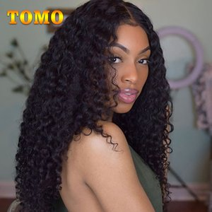 "TOMO Hair Cheap 4 Bundles Deal Deep Wave Human Hair Weave Extension Malaysian Curly Hair 8 to 28"" Free Shipping Non Remy Weft"