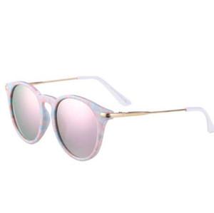 Reedoon crianças meninas óculos de sol polarizada uv400 lente espelho moldura de metal do bebê óculos de sol da criança óculos de sol bonito oculos infantil 2958