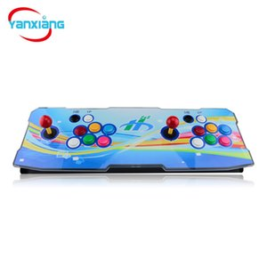 Mais novo Caixa de Luar 6 960in Home Arcade Gameboy Console Suporte HDMI / VGA / USB de Saída para Qualquer Monitor Arco-Íris Cor Consoles YX-960-A