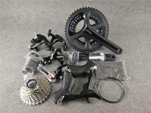 Con 11-28T 11-30T 11-32T 50 / 34T 53 / 59T 170 / 172.5mm 2 * 11 22 Bicicleta de carretera de velocidad bicicleta shinam0 105 R7000 groupset envío gratis