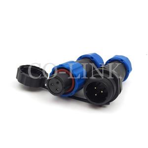 SD13 3pin wasserdichte Netzsteckdose, 5A 380V Hochspannungsbatterieladegerät Netzsteckeradapter, Luftfahrtstecker, LED-Wasserdichter Stecker