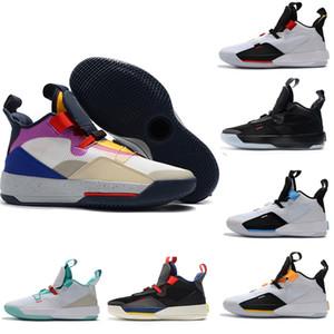 새로운 디자이너 신발 33s 체육 농구 신발 Guo Ailun 미래 스포츠 멘스 운동화 실행 럭셔리 테크 팩 스포츠 스니커즈