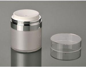50g frasco de creme acrílico airless, frasco de emulsão airless, emulsão sem ar / frasco de creme frascos de cosméticos frete grátis