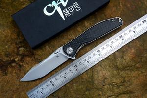 CH 3516 orijinal Flipper katlama bıçağı S35VN Bıçak Titanyum karbon fiber kolu kamp cep EDC araçları bıçaklar