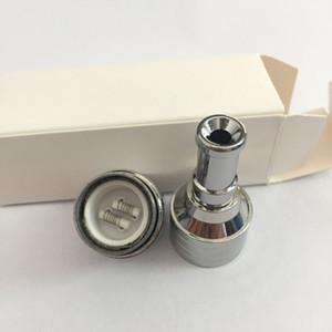 Wax Dry Herb Réservoir E Cigarette Atomizer Dax vaporisateur avec chambre en céramique repalceable Double bobine en céramique 510 réservoir de fil