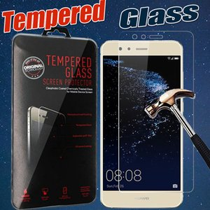 Tempered Glass 9H Explosion Premium Film Guard Screen Protector For Huawei P10 Plus P9 Lite 2017 Mate 9 Lite Honor 9 8 V9 5X With Package