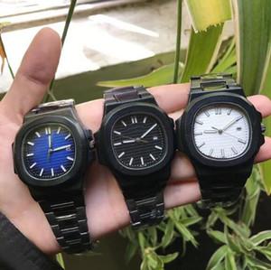 Men Wristwatches Nautilus Luxury Top Sports Watch Men Brand Automatic Monement Watches Tourbillon Transparent back square Wristwatch