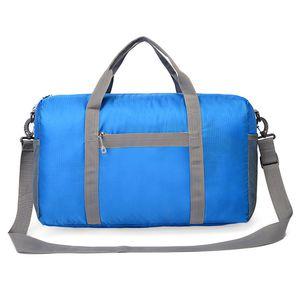Tanluhu 682 25L Outdoor Grande Capacité Pliable Duffle Bag Gym Voyage Paquet Pliable et facile à ranger