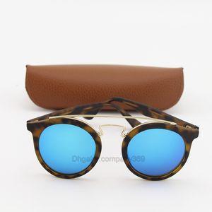 Yüksek kaliteli Vassl 4256 Güneş gözlüğü Moda Kadınlar UV Koruma Popüler Mat Kaplumbağa Çerçeve Yaz Stylel Oval Stil Wi gel